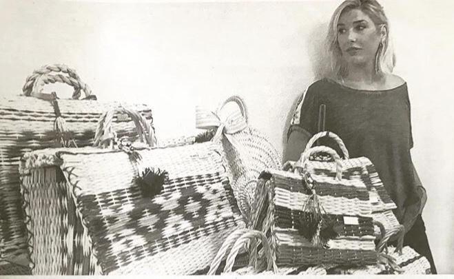 Jacqueline Zarabozo en su taller de Asturias